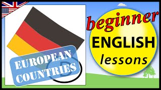 European countries in English | Beginner English Lessons for Children