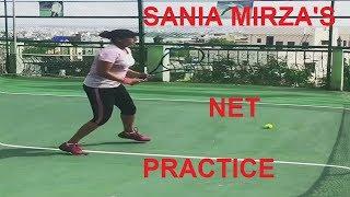 SANIA MIRZA'S PRACTICE