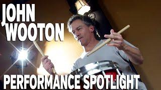 John Wooton performs
