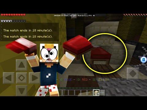 MCPE - SÁT THỦ GIƯỜNG NGỦ ( Minecraft PE Bedwars )