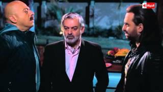 """مسلسل شطرنج - """" فتحي زيدان """" يحاول قتل """" غنيم """" في أول مقابلة بينهم - الحلقة 118"""