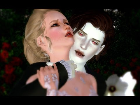 Sims 3 Vampire love - Wasting my young years