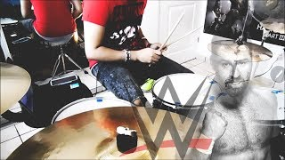 WWE SAMI ZAYN - THEME SONG - WORLDS APART - DRUM COVER