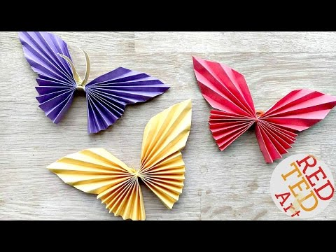 Easy Paper Butterfly Origami Cute & Easy Butterfly DIY Origami for Beginners