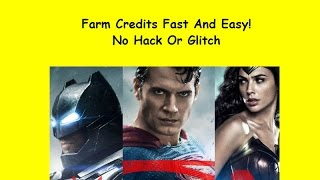 Easy Ways To Farm Credits And Get Dawn Of Justice Characters