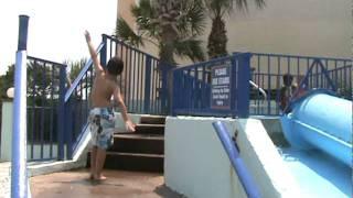 The kiddie slide