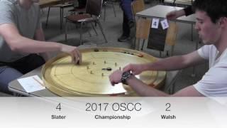 Crokinole 2017 Ontario Final - Walsh v Slater