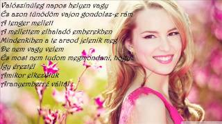 Bridgit Mendler - All I See Is Gold Magyar felirattal
