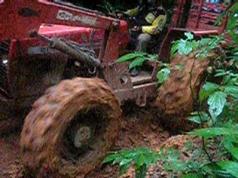 Atoleiro na mata amazonica em São Félix do Xingu PA