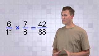 Math Antics - Multiplying Fractions