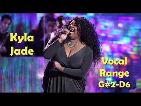 Kyla Jade [The Voice] - Live Vocal Range (G#2-D6)