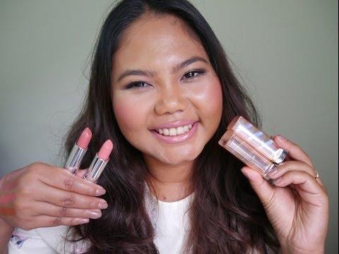 ขอเห่อและทาให้ดู Maybelline So Nude Lipsticks | MaiRuuDee
