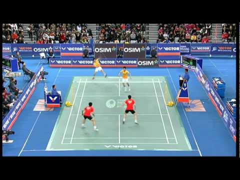 Semi Finals - MD - Cai Y. / Fu H. vs Ko S.H  / Yoo Y.S - 2012 Victor Korea Open