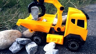 Toy Truck Videos for Children. Tractors for children. Game for Kids