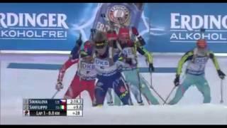 EPIC LAST LOOP ! Biathlon World Cup 1 (2015-2016) - Women's Pursuit Race