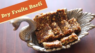 Dry Fruits Barfi | Best Barfi Recipe | Indian Sweets | Divine Taste With Anushruti