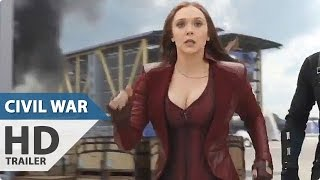 CAPTAIN AMERICA 3: CIVIL WAR Movie Clip - Ant-Man Water Truck (2016)
