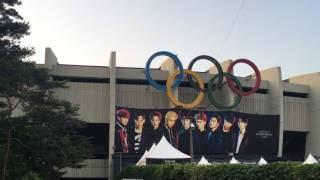 170527 EXO'rDium Dot Monster Outside Stadium EXO L Fanchant
