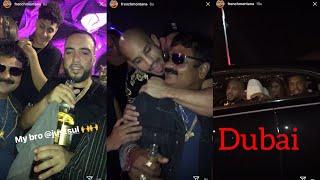 French Montana Party In Dubai with Abu Azaitar , Just Sul