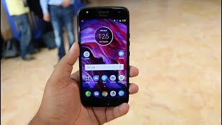 Moto X4 India Unboxing, Hands on, Camera, Features