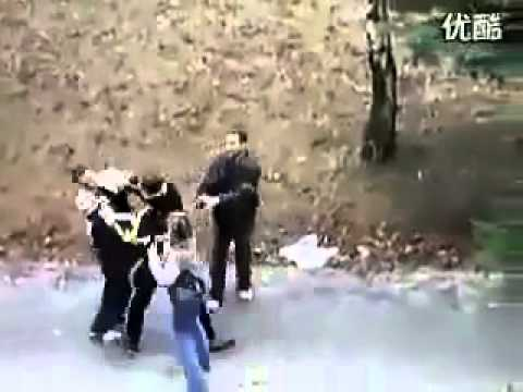 Epic Fight In A Park Guy Takes On Two Guys