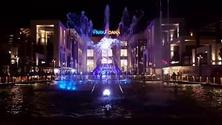 Park Adana AVM Gösteri Havuzu Akşam Şovu (4K)