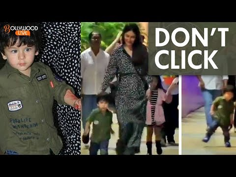 Xxx Mp4 Must Watch Kareena Kapoor Gets ANGRY On Media For Clicking Son Taimur Ali Khan S Pictures 3gp Sex