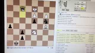 CHESS:  MOST EPIC CHECKMATE COMMENTARY EVER: Always bet on Black!!!