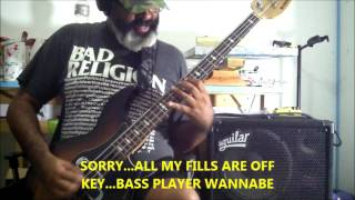 Corrosion Of Conformity  Loss For Words Bass Cover