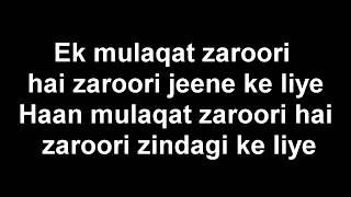 Zack Knight  Bollywood Medely Pt 5 Lyrics