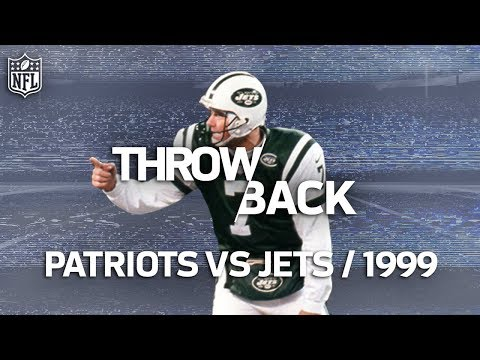 That Time a Punter Played QB for the Jets and Threw 2 TD s NFL Vault Stories