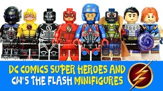 CW's The Flash Reverse-Flash & Zoom LEGO KnockOff Minifigures w/ Atom Bane & Arkham Knight