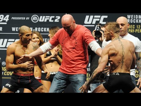 Xxx Mp4 Watch The Full Jose Aldo Vs Conor McGregor Weigh In UFC 194 3gp Sex