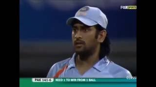 India vs Pakistan- T20 World Cup 2007 tied match Video