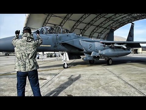 F-15E Strike Eagles At Exercise Razor Talon