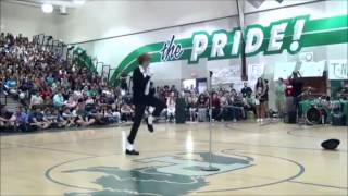 Teen Destroys Talent Show With Michael Jackson's