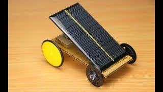 How To Make Solar Car at Home Easy - Science Project Ideas