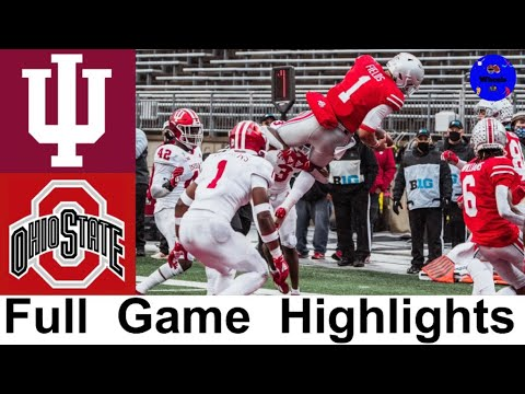 9 Indiana vs 3 Ohio State Highlights College Football Week 12 2020 College Football Highlights