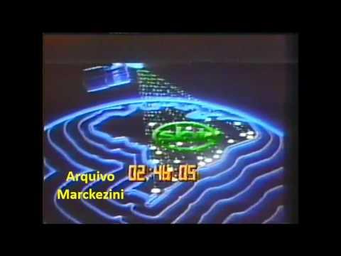 Vinheta de encerramento SBT 1994