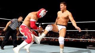 Rey Mysterio & Sin Cara vs. Cody Rhodes & Tensai: Raw, Sept. 3, 2012
