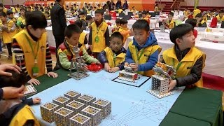 2017 World Educational Robot Contest Kicks off in Shanghai