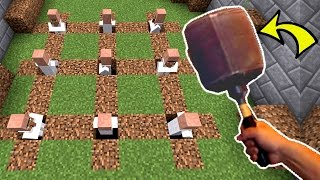 Minecraft: WHACK A VILLAGER!!! - Asleep 2 - Custom Map [2]