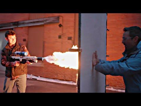 Flamethrower vs Aerogel