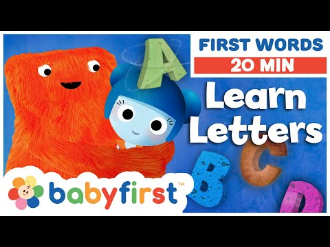 ABC – The letters A B C D Learn the Alphabet with ABC Galaxy compilation