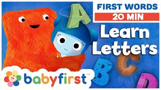 ABC – The letters A, B, C, D | Learn the Alphabet with ABC Galaxy compilation