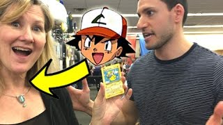 Opening Pokemon Cards With The ORIGINAL VOICE ACTOR OF ASH KETCHUM!