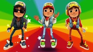 SUBWAY SURFERS GAMEPLAY HD - BARCELONA ✔ JAKE+DARK OUTFIT+STAR OUTFIT AND 135 MYSTERY BOXES OPENING