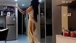 رقص جديد وحصري لاؤل مره على قناتنا 2018 رقص بقميص نوم ابيض
