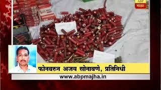 नाशिक, मनमाड : मुंबई-आग्रा महामार्गावर 25 रायफल,17 बंदुकांसह 4 हजार जिवंत काडतुसं जप्त