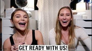 get ready with us: college party ft. my roommate!